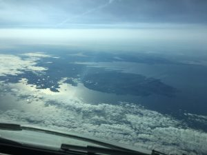 Donegal & Fermanagh from 35K feet